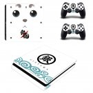 Gin Tama Play Station 4 slim skin decal for console and 2 controllers