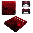 Turkey National Team Play Station 4 slim skin decal for console and 2 controllers