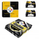 Galatasaray S.K Play Station 4 slim skin decal for console and 2 controllers