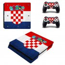 deutschland Play Station 4 slim skin decal for console and 2 controllers