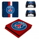 Olympique de Marseille Play Station 4 slim skin decal for console and 2 controllers
