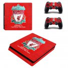 Liverpool Football Club Play Station 4 slim skin decal for console and 2 controllers