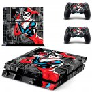 Harley quinn ps4 skin decal for console and controllers
