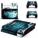 Untill Dawn ps4 skin decal for console and controllers
