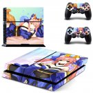 Anime Girl ps4 skin decal for console and controllers