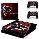 Atlanta Falcons ps4 skin decal for console and controllers
