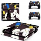 les beatles abbey road ps4 skin decal for console and controllers