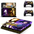 Naruto: Ultimate Ninja Storm ps4 skin decal for console and controllers
