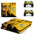 Breaking Bad ps4 skin decal for console and controllers