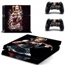 Harley Quin ps4 skin decal for console and controllers