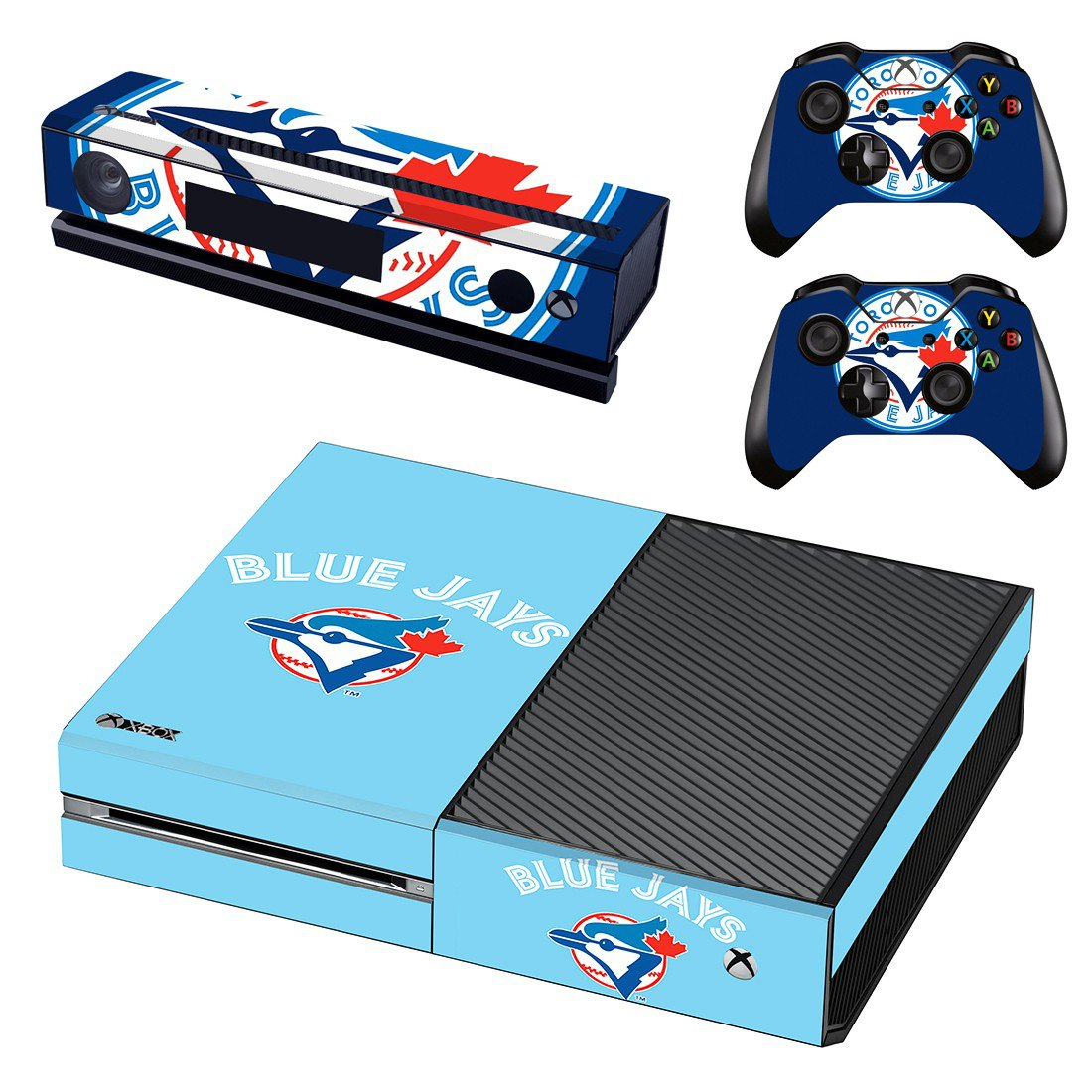 Toronto Blue Jays skin decal for Xbox one console and controllers