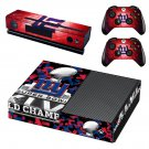 NY Super Bowl skin decal for Xbox one console and controllers