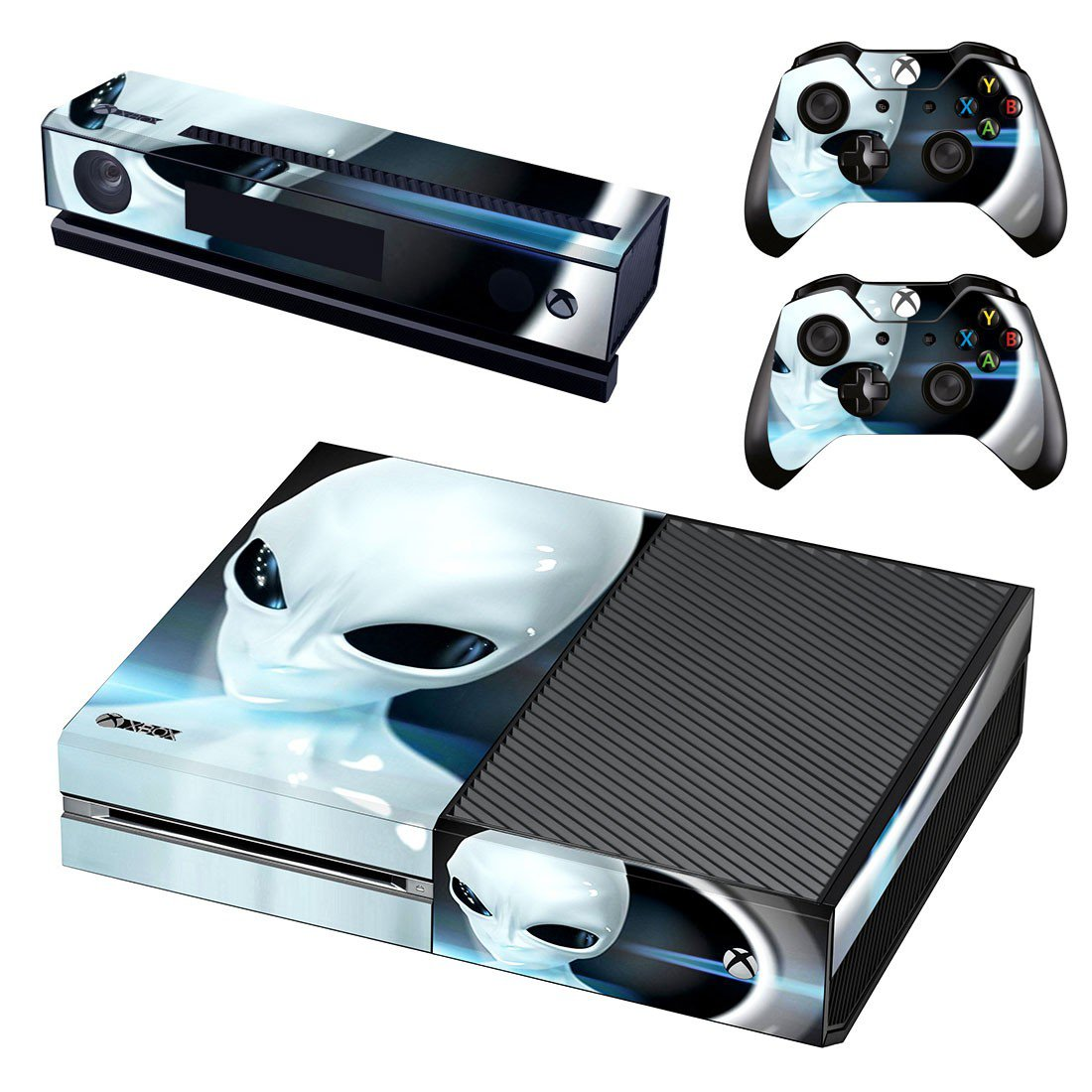 Robot Mask skin decal for Xbox one console and controllers
