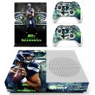 Seattle Seahawks skin decal for Xbox one S console and controllers
