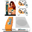 Miami Dolphins skin decal for Xbox one S console and controllers