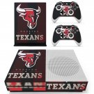 Houston Texans skin decal for Xbox one S console and controllers