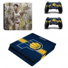 Indiana Pacers Play Station 4 slim skin decal for console and 2 controllers