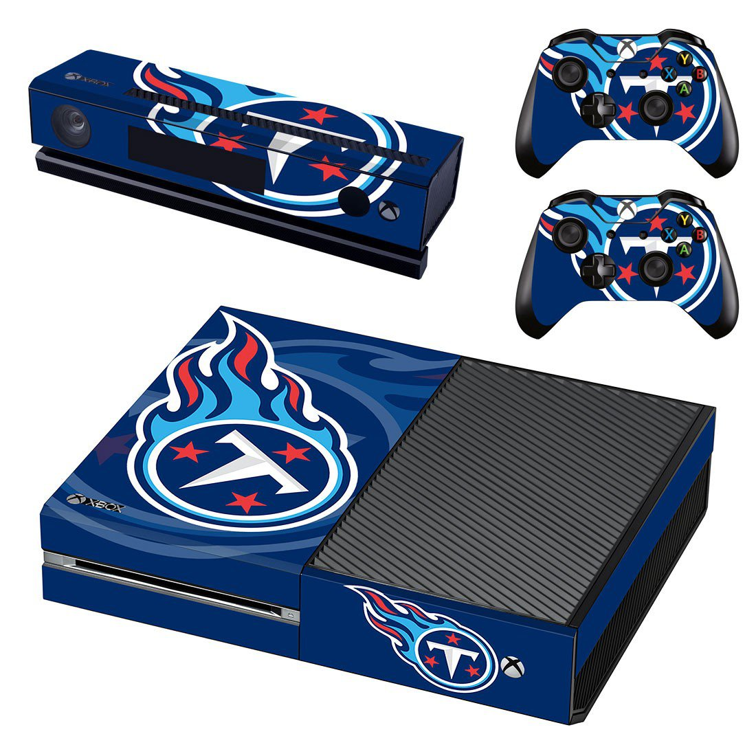 Tennessee titans skin decal for Xbox one console and controllers