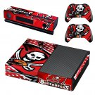 Tampa Bay Buccaneers skin decal for Xbox one console and controllers