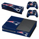New England Patriots skin decal for Xbox one console and controllers