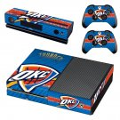 Oklahoma City Thunder skin decal for Xbox one console and controllers