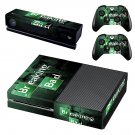 Breaking Bad skin decal for Xbox one console and controllers