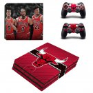 Chicago Bulls ps4 pro skin decal for console and controllers