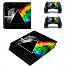 Prismic Light action ps4 pro skin decal for console and controllers