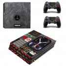 Calculator Interface ps4 pro skin decal for console and controllers
