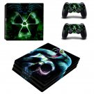 Snake n Skull ps4 pro skin decal for console and controllers