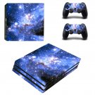 Stars of Sky ps4 pro skin decal for console and controllers