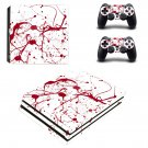 Blood Vein ps4 pro skin decal for console and controllers