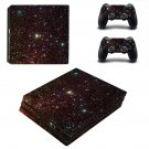 Night Stars ps4 pro skin decal for console and controllers