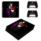 Joker VS Harley Quinn ps4 pro skin decal for console and controllers