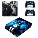Anime Girl ps4 pro skin decal for console and controllers