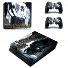 Dishonored2 ps4 pro skin decal for console and controllers