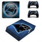 Carolina panthers ps4 pro skin decal for console and controllers