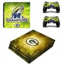 NFL Super Bowl round ps4 pro skin decal for console and controllers