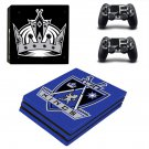 Los Angeles Kings ps4 pro skin decal for console and controllers