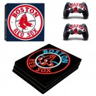 Boston Red sox ps4 pro skin decal for console and controllers