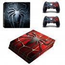 Metal Spider ps4 pro skin decal for console and controllers