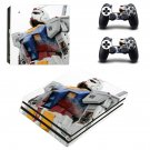 Gundam Front Tokyo ps4 pro skin decal for console and controllers