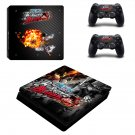 one piece burning blood ps4 slim edition skin decal for console and controllers
