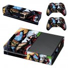 Fictional character skin decal for Xbox one console and controllers