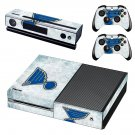 St. Louis Blues skin decal for Xbox one console and controllers