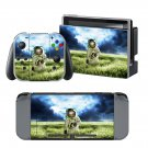 Astronaut Landing design decal for Nintendo switch console sticker skin