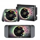 Broken fire Disk design decal for Nintendo switch console sticker skin