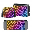 Color Bars design decal for Nintendo switch console sticker skin