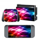 Red Clear wave design decal for Nintendo switch console sticker skin