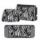 Tiger Stripe design decal for Nintendo switch console sticker skin